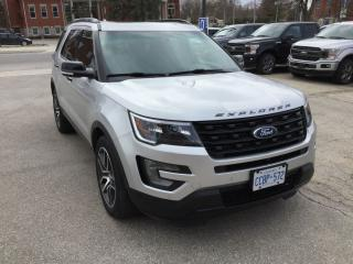 Used 2017 Ford Explorer Sport | 4WD | One Owner | Navigation for sale in Harriston, ON