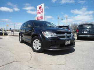 Used 2012 Dodge Journey 7PASSENGER 4CYL GAS SAVER  REMOTE START PW PL A/C for sale in Oakville, ON
