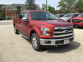 Used 2015 Ford F-150 Lariat | 4X4 | Accident Free | Bluetooth for sale in Harriston, ON