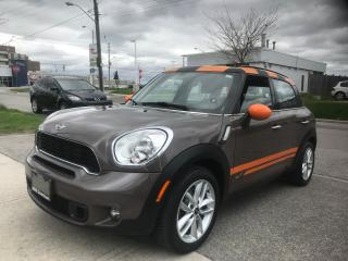 Used 2011 MINI Cooper Countryman S for sale in Toronto, ON