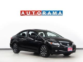 Used 2014 Honda Civic TOURING PKG NAVIGATION LEATHER SUNROOF for sale in Toronto, ON