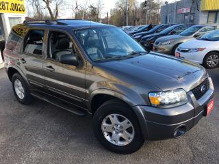 Used 2006 Ford Escape Limited for sale in Scarborough, ON