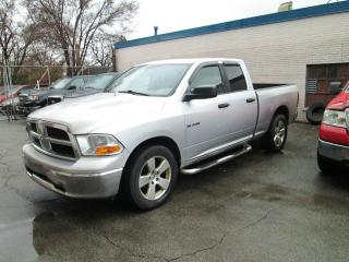 Used 2010 Dodge Ram 1500 4WD 4.7L Quad Cab Flex Fuel. for sale in Toronto, ON