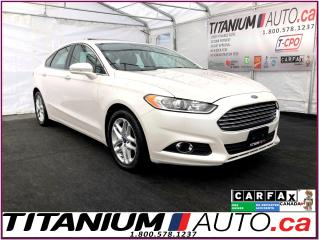 Used 2016 Ford Fusion SE-GPS-Camera-Sunroof-Leather Heated Power Seats- for sale in London, ON