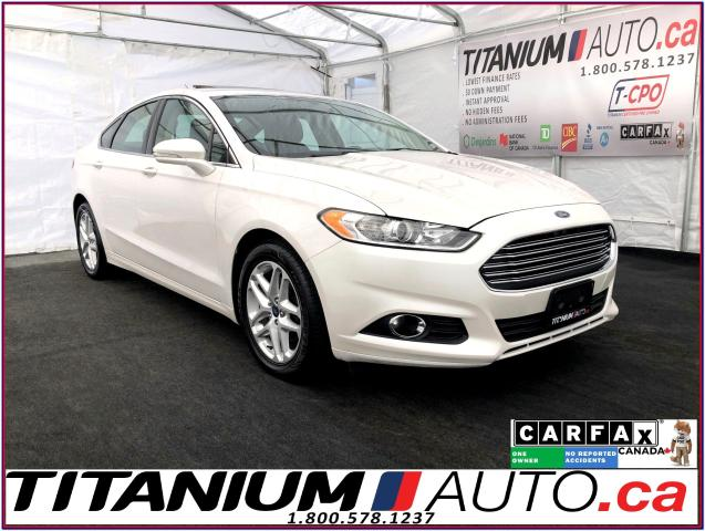 2016 Ford Fusion SE-GPS-Camera-Sunroof-Leather Heated Power Seats-