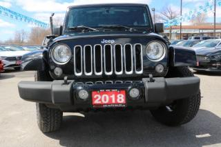 Used 2018 Jeep Wrangler Sahara for sale in Brampton, ON