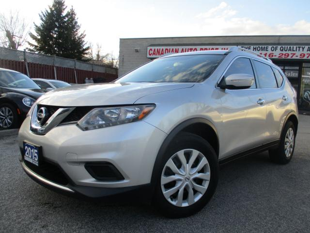 2015 Nissan Rogue CAMERA-BLUETOOTH-CRUISE-HEATED MIRRORS-ONE OWNER