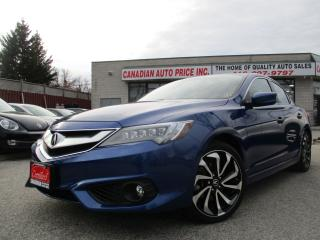Used 2017 Acura ILX A-Spec-NAV-CAM-BLU-TOT-SKIRT-LTHER-ROOF for sale in Scarborough, ON