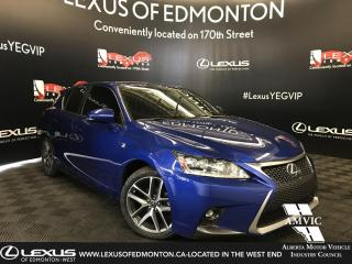 Used 2014 Lexus CT 200h F SPORT PACKAGE for sale in Edmonton, AB