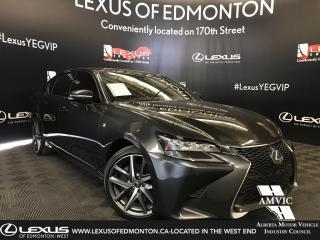 Used 2017 Lexus GS 350 F sport Series 2 for sale in Edmonton, AB