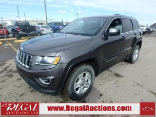 Used 2015 Jeep Grand Cherokee Laredo 4D Utility AWD 3.6L for sale in Calgary, AB