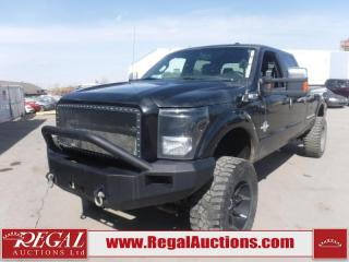 Used 2015 Ford F-350 S/D PLATINUM CREW CAB LWB SRW 4WD 6.7L for sale in Calgary, AB
