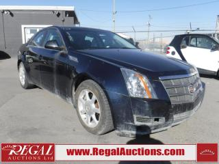 Used 2008 Cadillac CTS 4D Sedan for sale in Calgary, AB