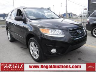 Used 2011 Hyundai SANTA FE LIMITED V6 4D UTIL AT W/NAV for sale in Calgary, AB