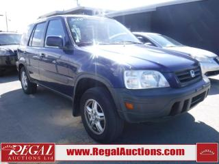 Used 2000 Honda CR-V 4D Utility AWD for sale in Calgary, AB
