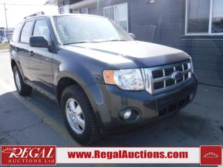 Used 2009 Ford Escape 4D Utility 2WD for sale in Calgary, AB