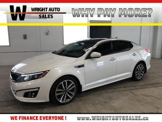 Used 2015 Kia Optima SX Turbo|LEATHER|MOON ROOF|BLUETOOTH|75,354 KM for sale in Cambridge, ON
