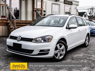 Used 2015 Volkswagen Golf Sportwagen Trendline BK. CAMERA H.SEATS ALLOYS WOW!! for sale in Ottawa, ON