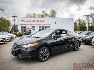 Used 2015 Honda Civic EX, Factory Warranty Until 2022 for sale in Port Moody, BC