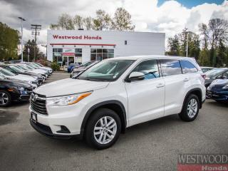 Used 2015 Toyota Highlander LE for sale in Port Moody, BC
