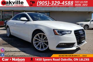 Used 2014 Audi A5 2.0T PROGRESSIV | NAVIGATION | SUNROOF | HTD SEATS for sale in Oakville, ON
