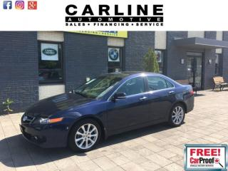 Used 2007 Acura TSX 4DR SDN AT for sale in Nobleton, ON