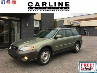 Used 2006 Subaru Outback 5dr Wgn Outback 2.5i Limited Auto for sale in Nobleton, ON