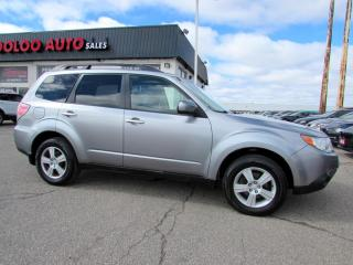 Used 2009 Subaru Forester 2.5X PREMIUM AWD PANORAMIC SUNROOF CERTIFIED for sale in Milton, ON