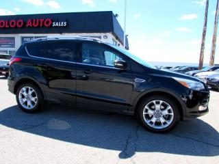 Used 2016 Ford Escape TITANIUM AWD NAVIGATION CAMERA CERTIFIED 2YR WARRANTY for sale in Milton, ON