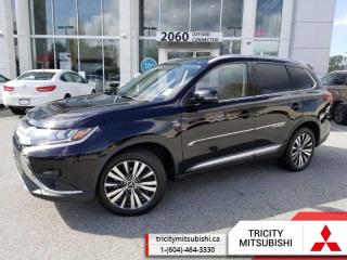 Used 2019 Mitsubishi Outlander GT S  LEATHER-SUNROOF-7 SEATS for sale in Port Coquitlam, BC