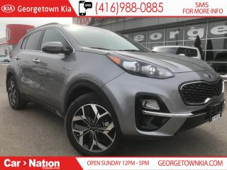 Used 2020 Kia Sportage EX TECH | $237 BI-WEEKLY | PANO ROOF | NAVI | for sale in Georgetown, ON