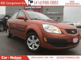 Used 2009 Kia Rio EX   ONE OWNER   HEATED SEATS   FUEL EFFICIENT   for sale in Georgetown, ON
