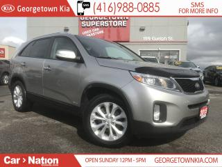 Used 2015 Kia Sorento EX V6   PANO ROOF   LEATHER   ONE OWNER   for sale in Georgetown, ON