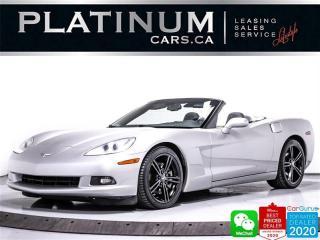 Used 2008 Chevrolet Corvette CONVERTlBLE, 430HP, LEATHER, PUSH START for sale in Toronto, ON