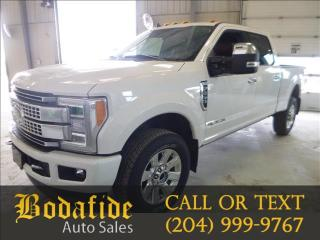 Used 2019 Ford F-350 Super Duty SRW PLATINUM for sale in Headingley, MB