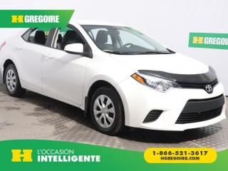 Used 2016 Toyota Corolla CE for sale in St-Léonard, QC
