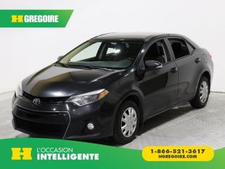 Used 2015 Toyota Corolla S A/C GR ELECT CAM for sale in St-Léonard, QC