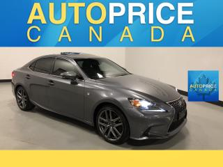 Used 2016 Lexus IS 300 F-SPRT|NAVIGATION|REAR CAM|LEATHER for sale in Mississauga, ON