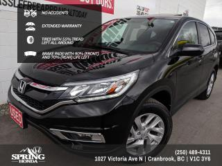 Used 2016 Honda CR-V NO ACCIDENTS, EXTENDED WARRANTY, WELL MAINTAINED, LOCAL TRADE - $168 BI-WEEKLY - $0 DOWN for sale in Cranbrook, BC