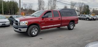 Used 2008 Dodge Ram 1500 Long Box Crew Cab 4x4 hemi Safetied SLT for sale in Madoc, ON