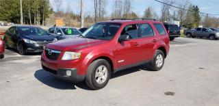 Used 2008 Mazda Tribute Fwd 4cyl 129k safetied we finance GX for sale in Madoc, ON
