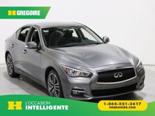 Used 2015 Infiniti Q50 SPORT CAMERA DE for sale in St-Léonard, QC