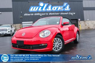 Used 2015 Volkswagen Beetle Trendline+ Convertible Auto, Leatherette, Heated Seats, and more! for sale in Guelph, ON