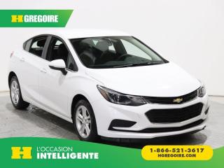 Used 2018 Chevrolet Cruze LT A/C GR ÉLECT for sale in St-Léonard, QC