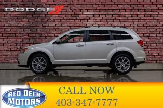 Used 2014 Dodge Journey AWD R/T Leather Roof DVD for sale in Red Deer, AB