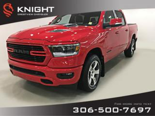 New 2019 RAM 1500 Sport Crew Cab | Leather | Sunroof for sale in Regina, SK