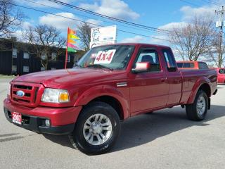 Used 2007 Ford Ranger Sport 4X4 for sale in Cambridge, ON