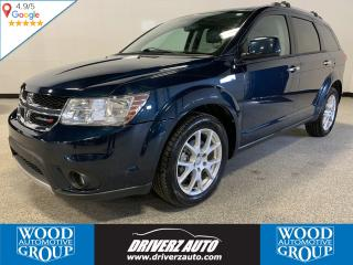 Used 2013 Dodge Journey CLEAN CARFAX, ONE OWNER, R/T AWD for sale in Calgary, AB