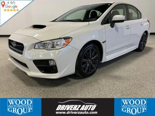 Used 2016 Subaru WRX Sport Package ONE OWNER, CLEAN CARFAX, 6 SPEED MANUAL,2 SETS OF TIRES COMES WITH THIS UNIT, WINTER & ALL SEASON. for sale in Calgary, AB