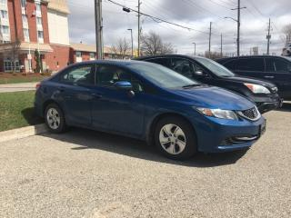 Used 2015 Honda Civic LX Back Up Camera, Bluetooth, Heated Seats and more! for sale in Waterloo, ON